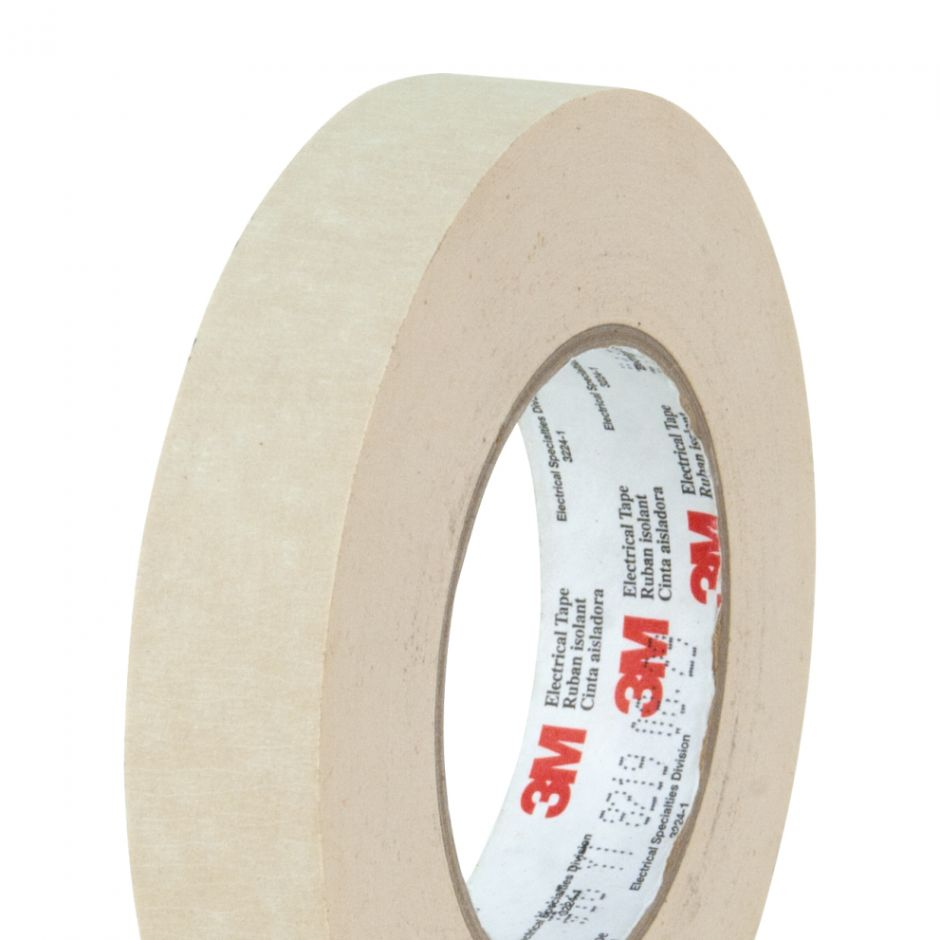 3M 16 Crepe Paper Tape | Electrical Insulation Tapes | Parafix