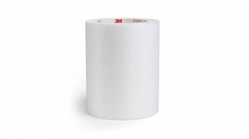 3M™ 2480 Single Coated Medical Nonwoven Tape with Hi-Tack Silicone Adhesive on Liner