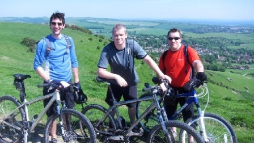 Parafix staff complete cycle challenge