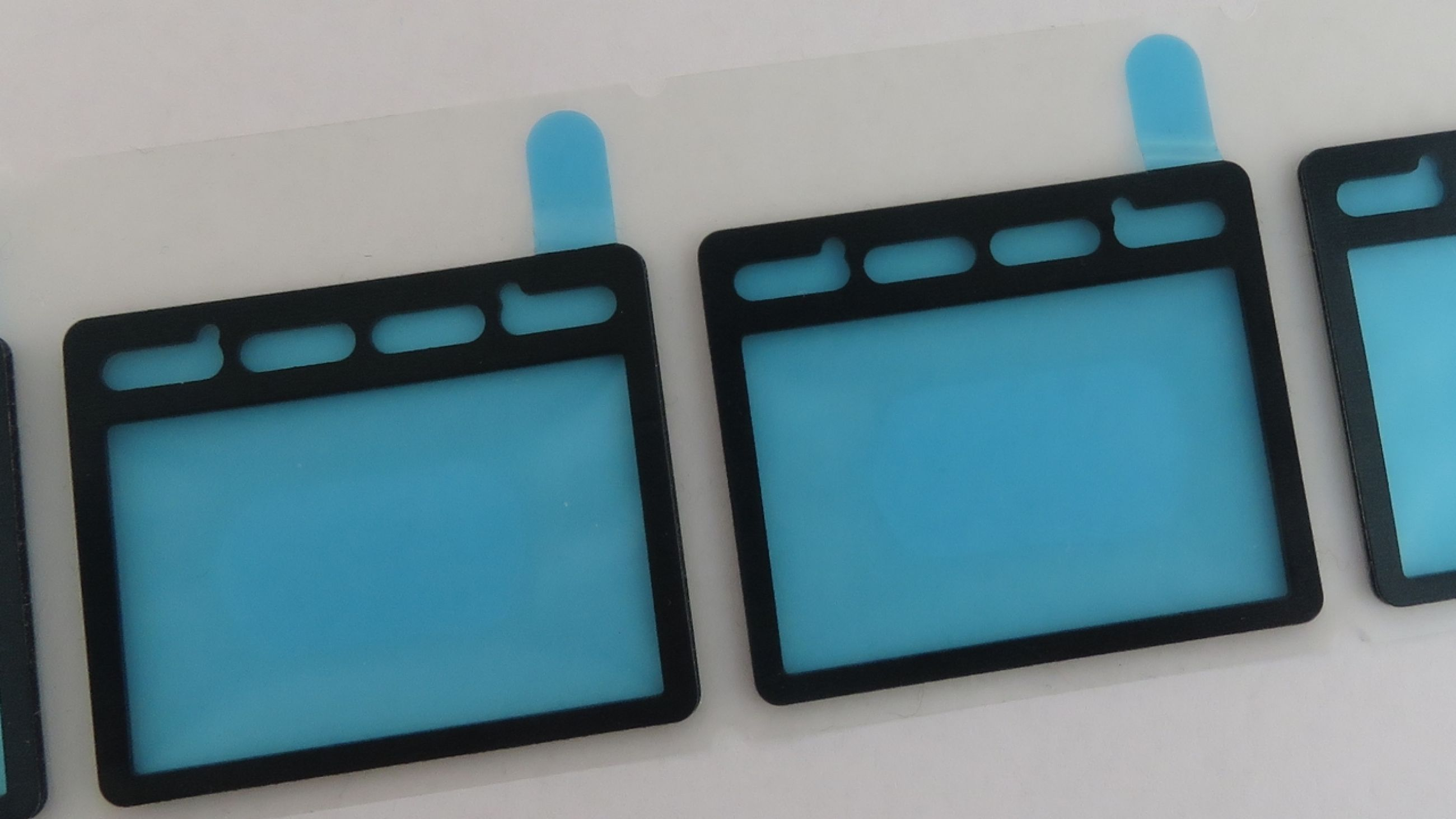 Handheld device LCD gasket