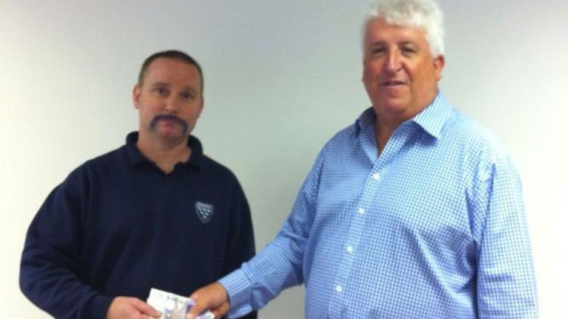 No more blues for Parafix Movember star