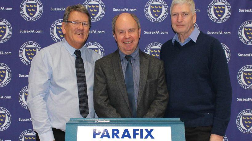 Parafix Sussex Senior Challenge Cup Semi Final Draw 2017