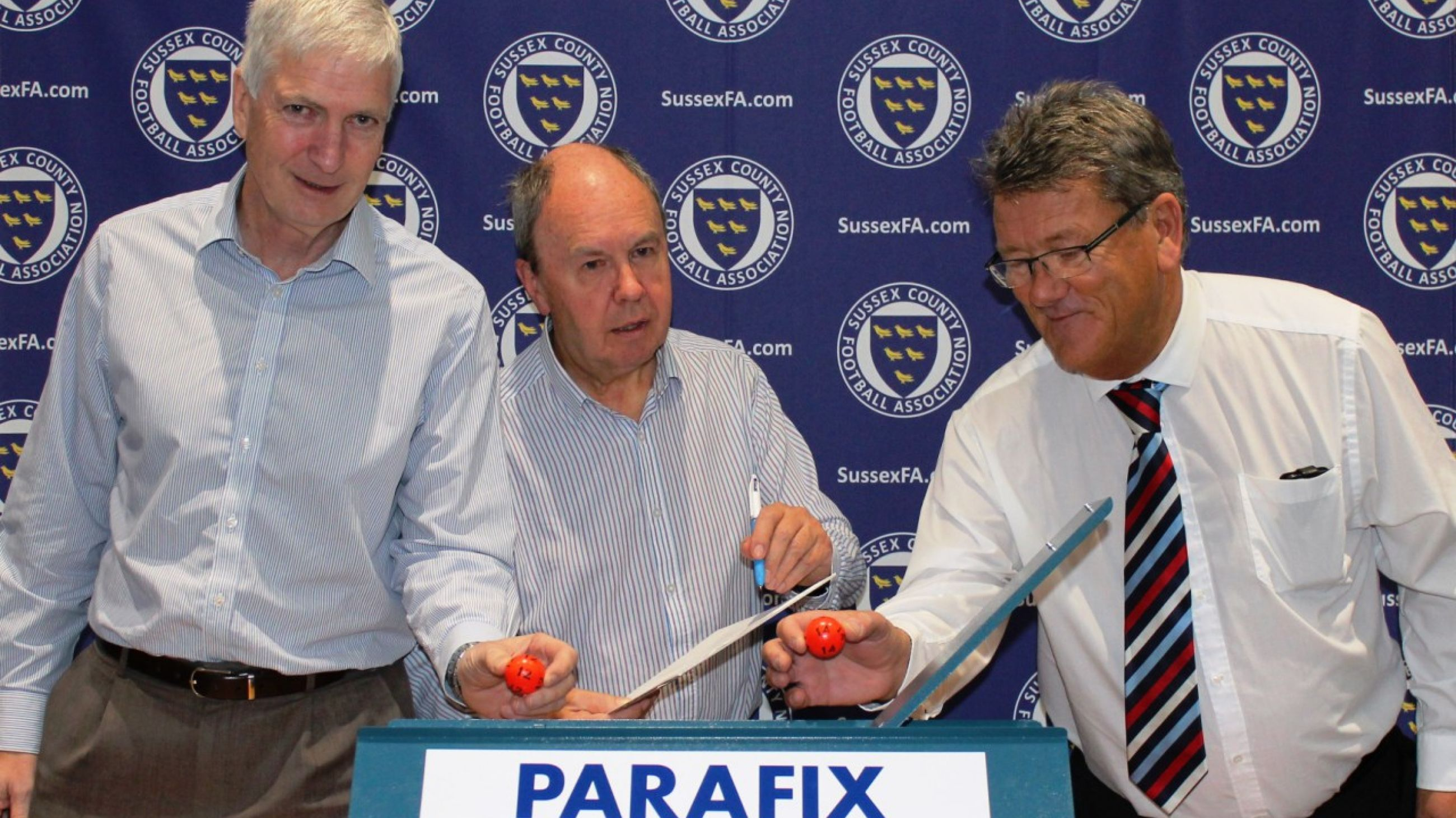 Parafix Sussex Senior Challenge Cup 3rd Round Draw 2016