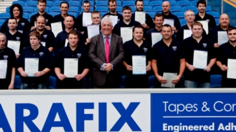 Parafix celebrates as half of UK workforce gains NVQ qualifications