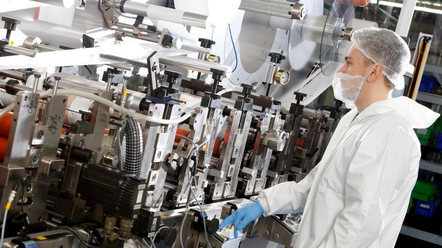 Clean room manufacturing