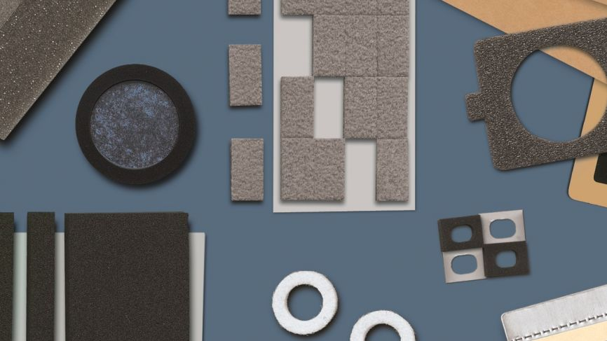 Foam and rubber materials
