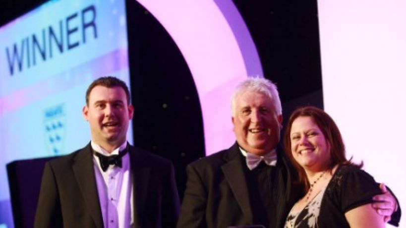 Parafix named Sussex Company of the Year 2011