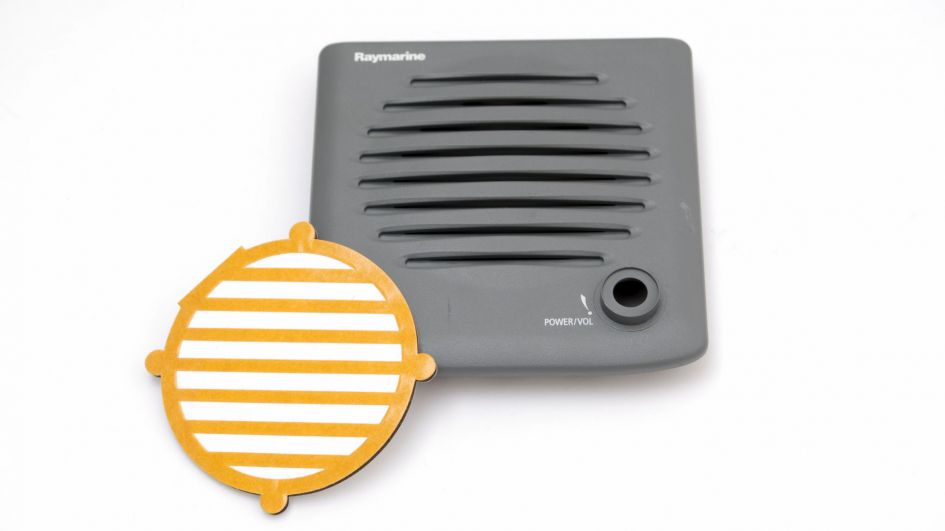 Waterproofing membrane in marine audio device