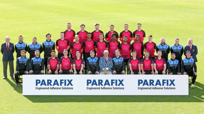 Parafix sponsor Sussex's Royal London One-Day Cup shirt