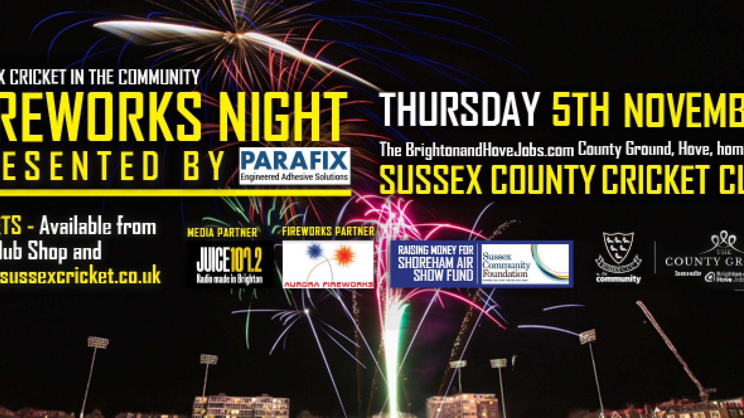 Parafix sponsor local event