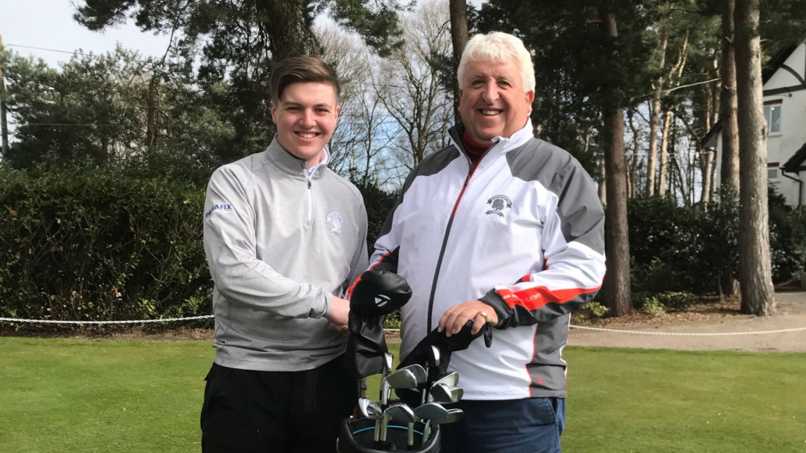 Parafix sponsors golfer Matt Dunbabin