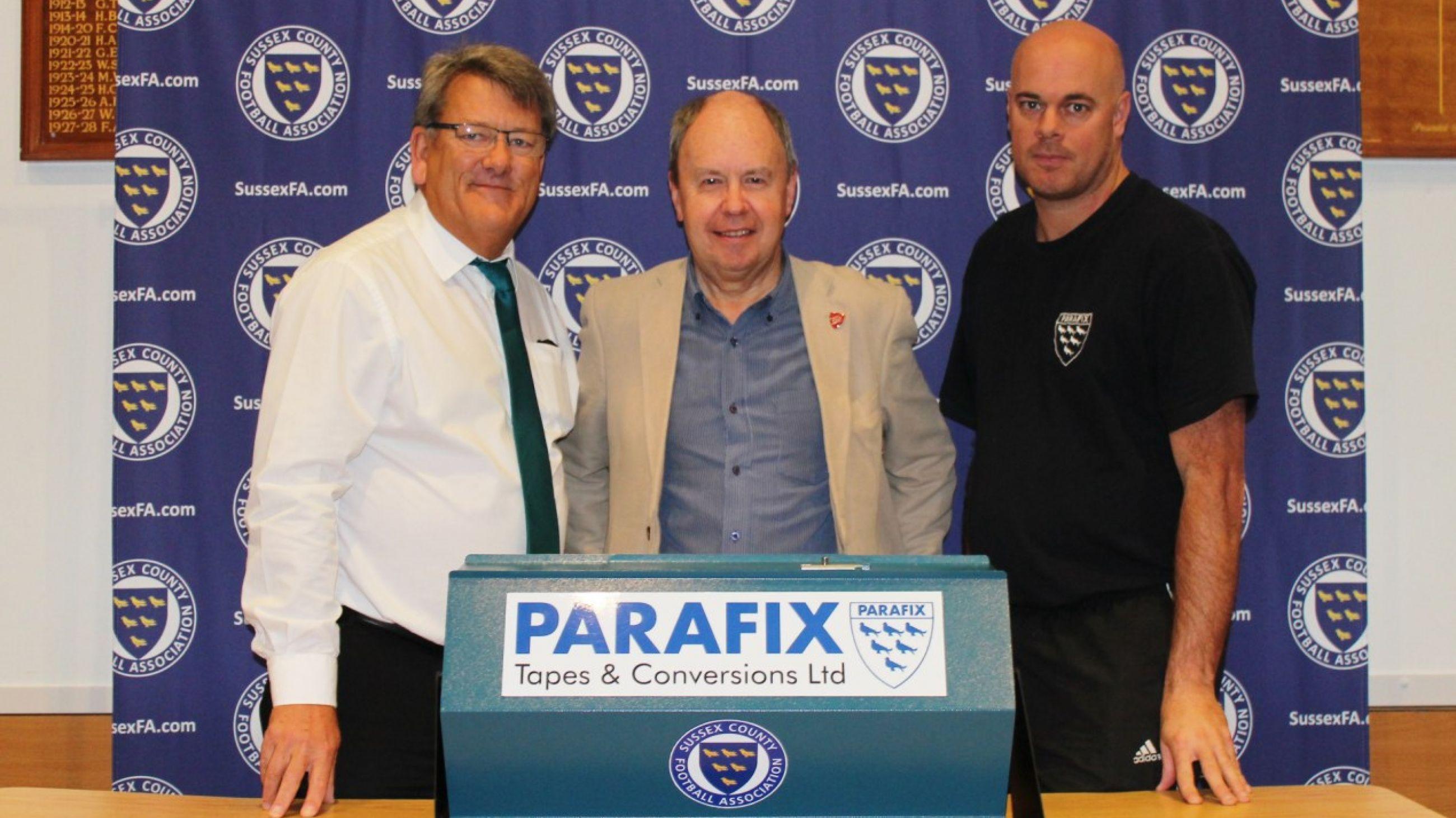 Parafix Sussex Senior Challenge Cup second round draw