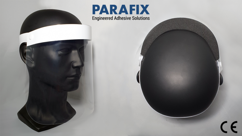 Parafix face shields now CE marked