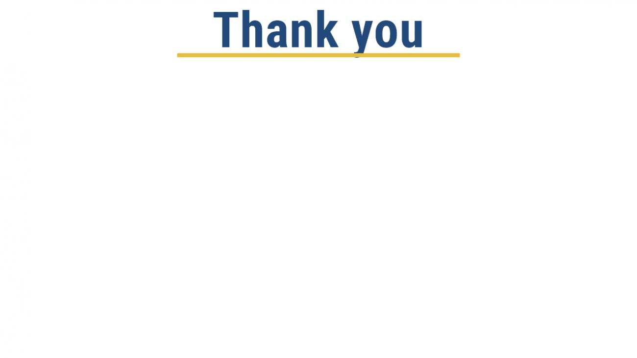 Thank You Ildiko